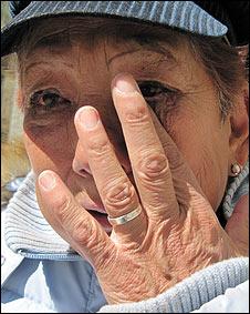 Irma, una anciana separada de su amor en Bolivia.